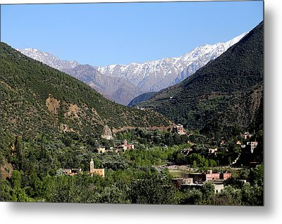 Metal Print featuring the photograph Ourika Valley 2 by Andrew Fare