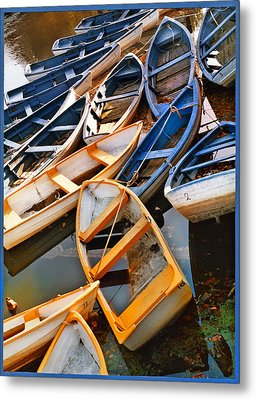 Out Of Season Metal Print by Robert Lacy