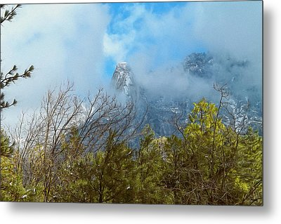 Metal Print featuring the photograph Out Of The Mist by Glenn McCarthy Art and Photography