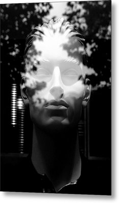 Out Of The Mist Metal Print by Jez C Self