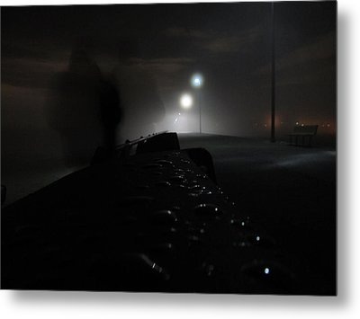 Metal Print featuring the photograph Out Of The Mist by Digital Art Cafe