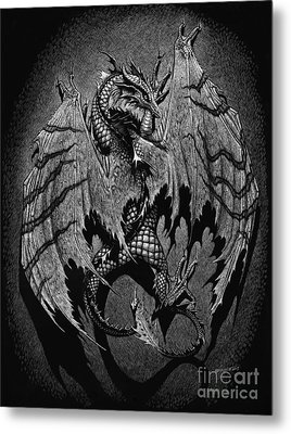 Out Of The Shadows Metal Print by Stanley Morrison