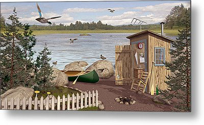 Out Thayuh Metal Print by Peter J Sucy