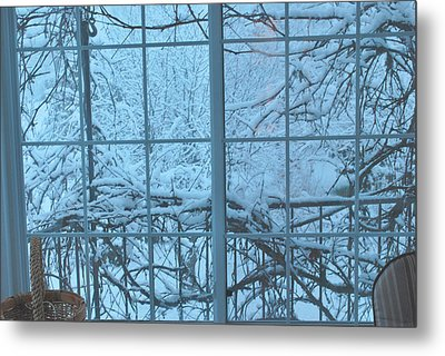 Out The Window Metal Print by Peter Williams