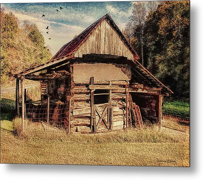 Metal Print featuring the photograph Out To Pasture 2 by Bellesouth Studio