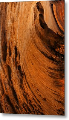 Outback Cavern Metal Print by Mike  Dawson