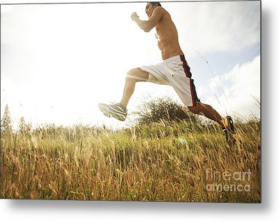 Outdoor Jogging IIi Metal Print by Brandon Tabiolo - Printscapes