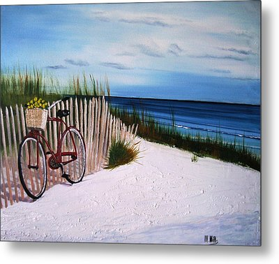Outer Banks Beach Metal Print