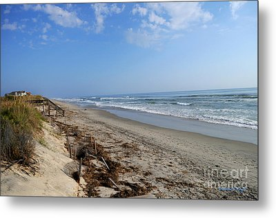 Outer Banks Morning Metal Print by Paulette B Wright