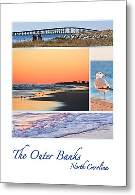 Outer Banks North Carolina Metal Print by Joni Eskridge