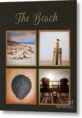 Outer Banks - The Beach Metal Print by Lori Deiter
