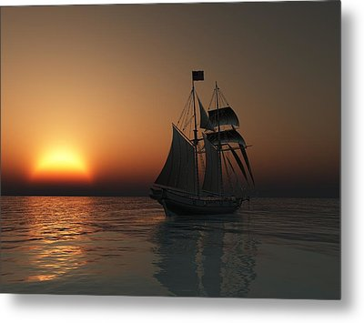 Outward Bound Metal Print by Timothy McPherson