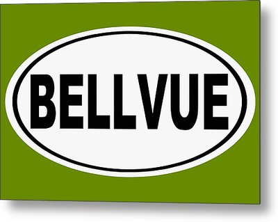 Metal Print featuring the photograph Oval Bellvue Colorado Home Pride by Keith Webber Jr