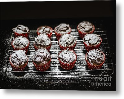 Oven Fresh Cupcakes Metal Print by Jorgo Photography - Wall Art Gallery