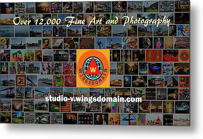 Metal Print featuring the photograph Over 12000 Unique Fine Art And Photography There's A Holiday Gift Here For Everyone by Wingsdomain Art and Photography