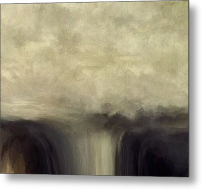 Over Flow Metal Print by Lonnie Christopher