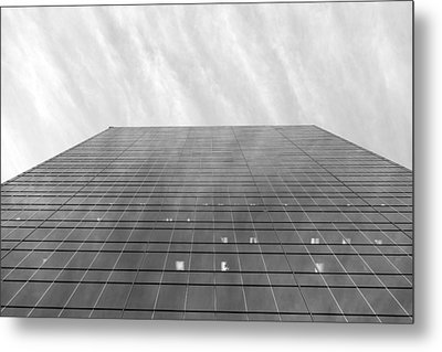 Metal Print featuring the photograph Over The City by Valentino Visentini