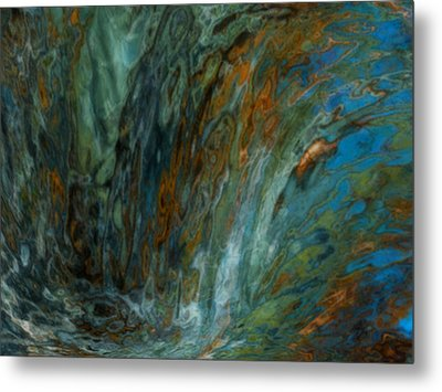 Over The Edge Metal Print by Jack Zulli
