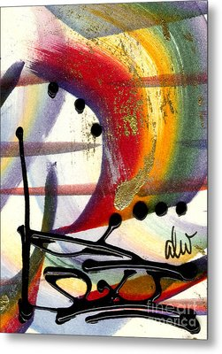 Over The Rainbow Metal Print by Angela L Walker