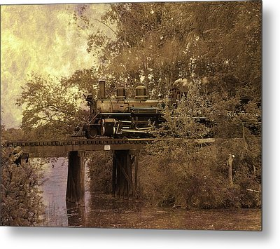 Over The River Metal Print by Scott Hovind