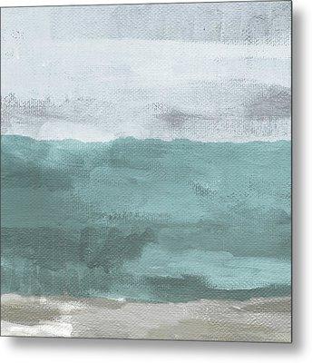 Overcast- Art By Linda Woods Metal Print
