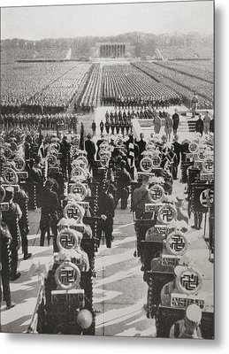 Overview Of The Mass Roll Call Of Sa Metal Print by Vintage Design Pics