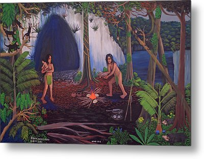 Owners Of The Jungle Metal Print