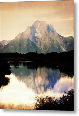 Oxbow Bend 14 Metal Print by Marty Koch
