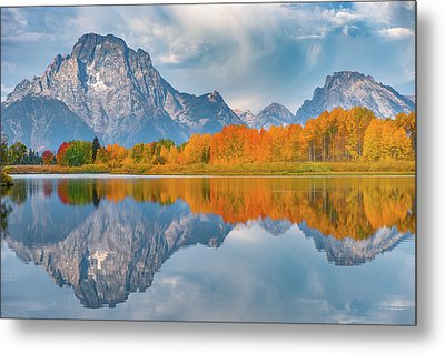 Oxbow's Autumn Metal Print by Darren White