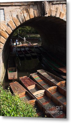 Oxford Punts Metal Print