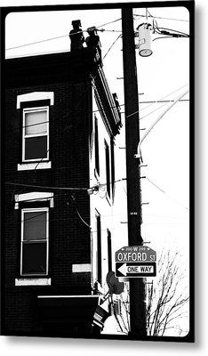 Metal Print featuring the photograph Oxford St by Christopher Woods