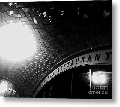 Oyster Bar At Grand Central Metal Print