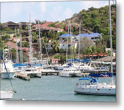 Metal Print featuring the photograph Oyster Bay Marina by Margaret Bobb