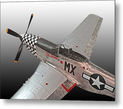 P-51 Etta Jeanne II Metal Print