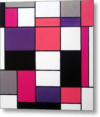 P Cubed Metal Print by Oliver Johnston