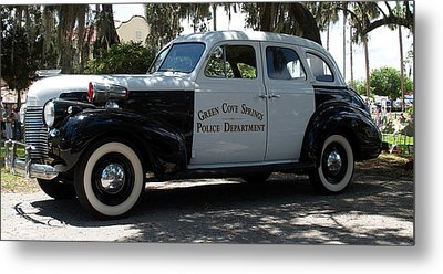 P D Cruiser Metal Print by Bob Johnson