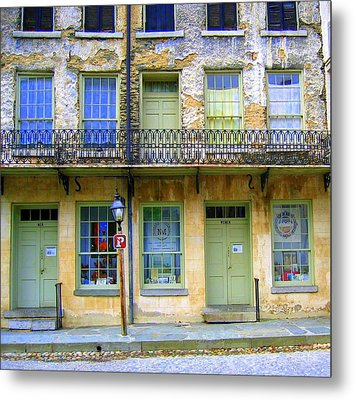 Metal Print featuring the photograph P Forbidden In Downtown Harpers Ferry  by Don Struke