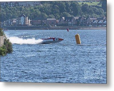 P1 Powerboats 3 Metal Print