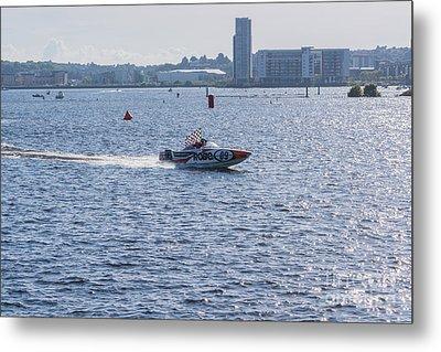P1 Powerboats 4 Metal Print