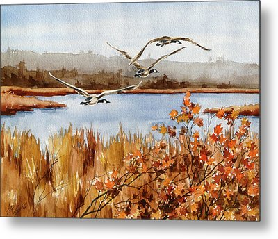 On The Fly Metal Print by Art Scholz