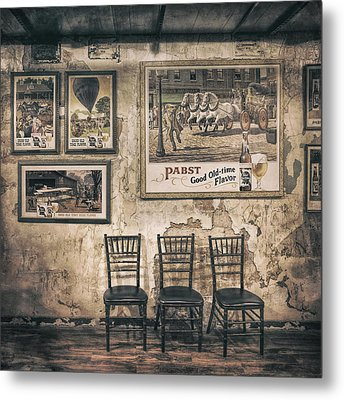 Pabst Good Old Time Flavor Metal Print by Scott Norris