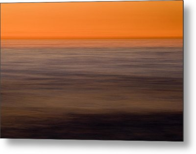 Pacific Abstracted Metal Print by Brad Rickerby