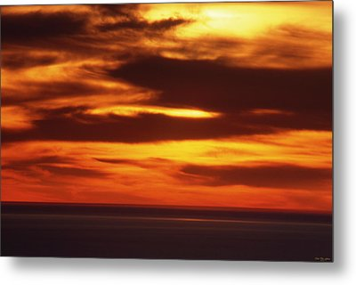 Pacific Backdrop  Metal Print by Soli Deo Gloria Wilderness And Wildlife Photography