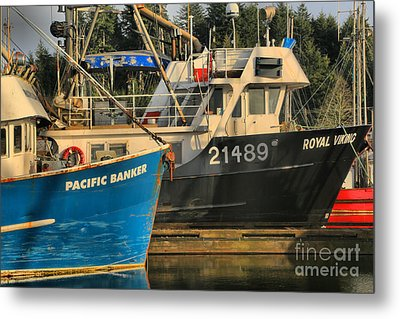 Pacific Banker And Royal Viking Metal Print by Adam Jewell