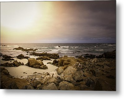 Metal Print featuring the photograph Pacific Coastline by Ryan Photography