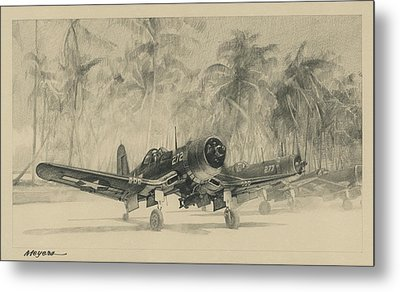 Pacific Corsairs Metal Print