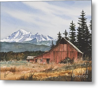 Pacific Northwest Landscape Metal Print