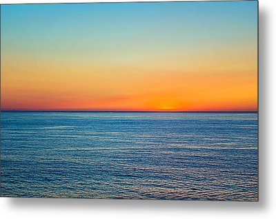 Metal Print featuring the photograph Pacific Ocean Sunset by April Reppucci