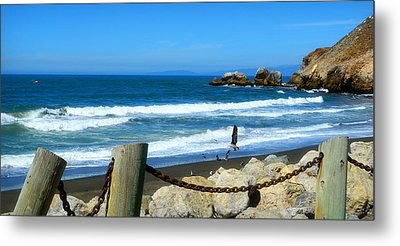Metal Print featuring the photograph Pacifica Coast by Glenn McCarthy Art and Photography