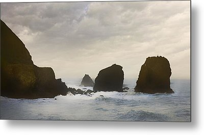 Pacifica Surf Metal Print